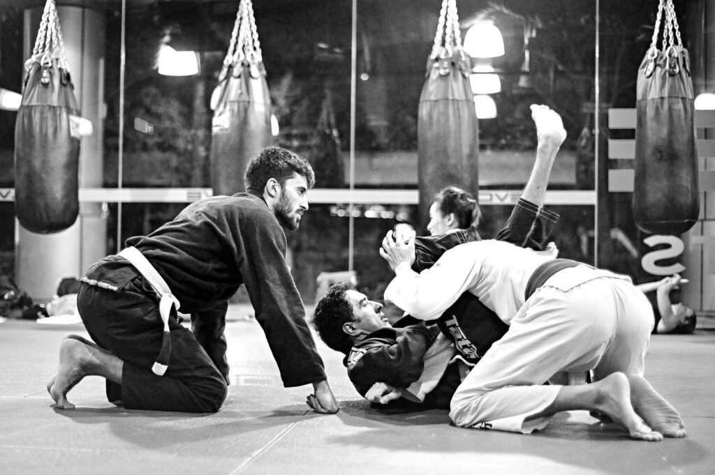 "Brazilian Jiu-Jitsu is also known as ""The Gentle Art""."