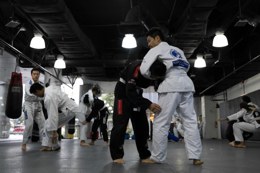 BJJ is also known as the gentle art.