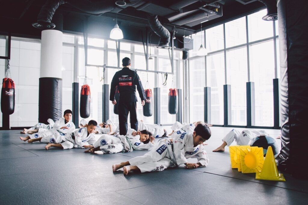 BJJ is a great way to keep your kids active.