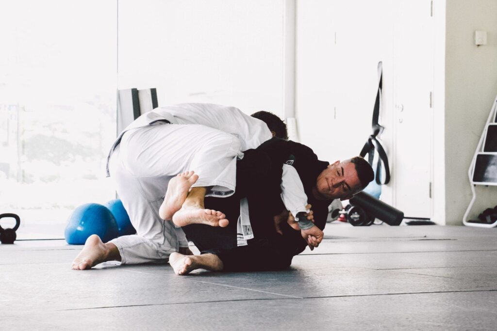 BJJ enables a smaller person to overcome bigger, stronger opponents.
