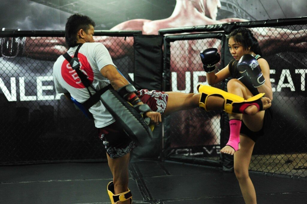 A Muay Thai class could help you burn up to 1,000 calories in an hour!
