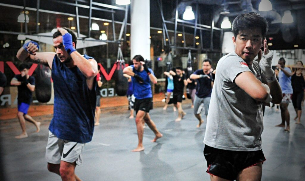 A class of Muay Thai could help you burn up to 1,000 calories in an hour!