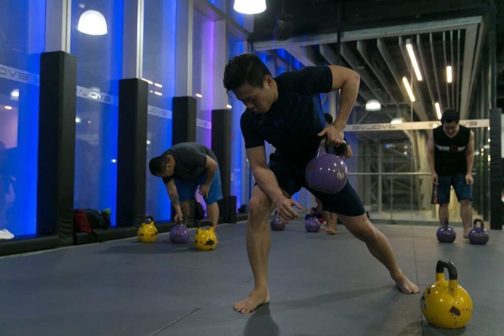 Kettlebell training is a great way to build your strength.