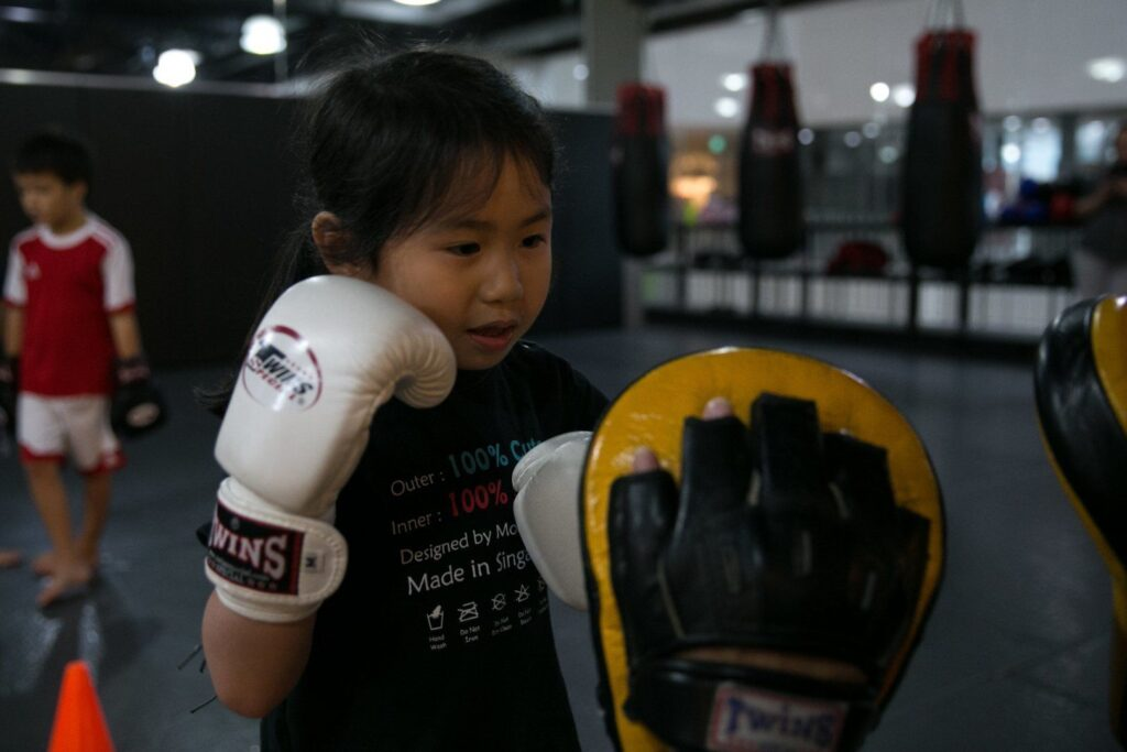 Martial arts is a fun way to keep your kids active.