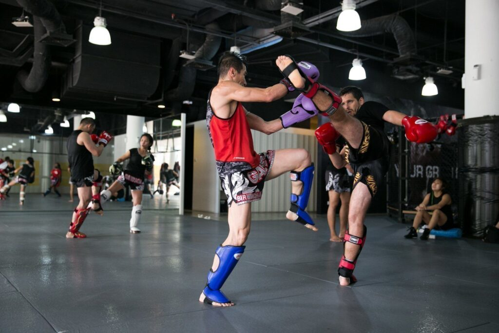 Sparring helps you to understand the various techniques on a deeper level.