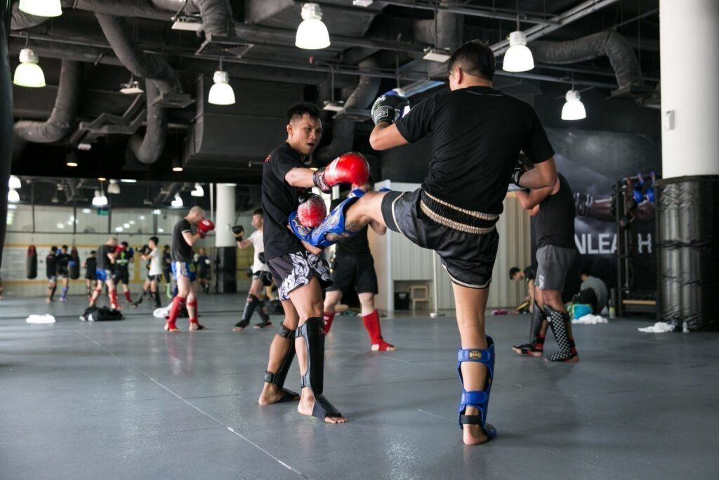 Sparring helps to deepen your understanding of the techniques you learned in class.