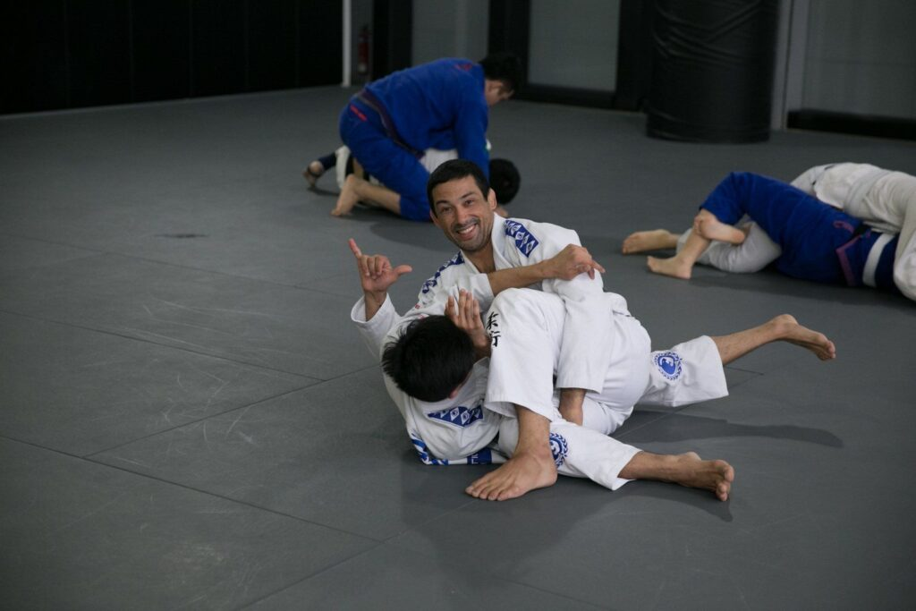 2x BJJ World Champion Teco Shinzato teaches BJJ at Evolve MMA.