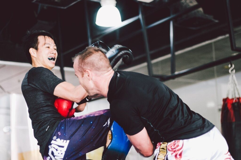 Sparring is a great way to take your training to the next level.