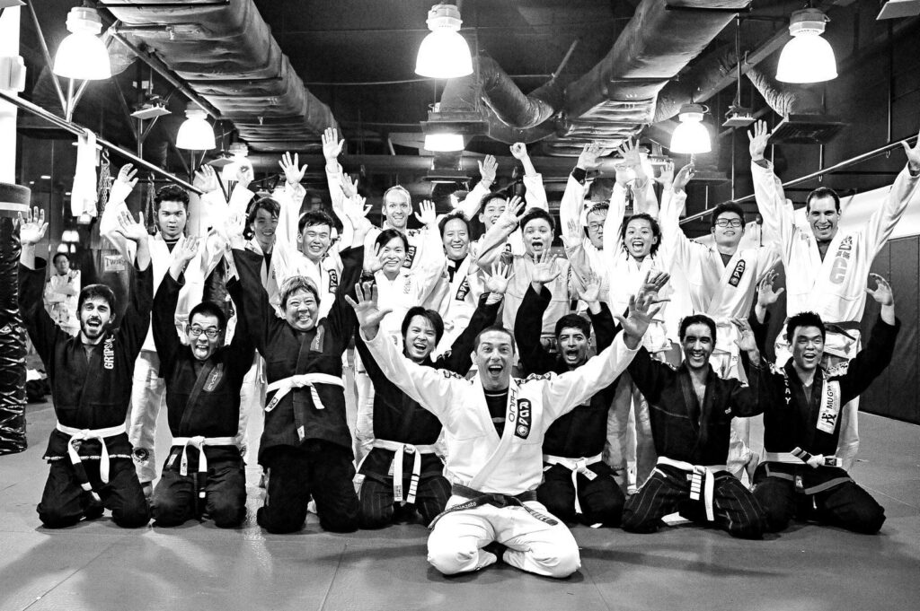 2x BJJ World Champion Teco Shinzato is a 4th degree black belt.