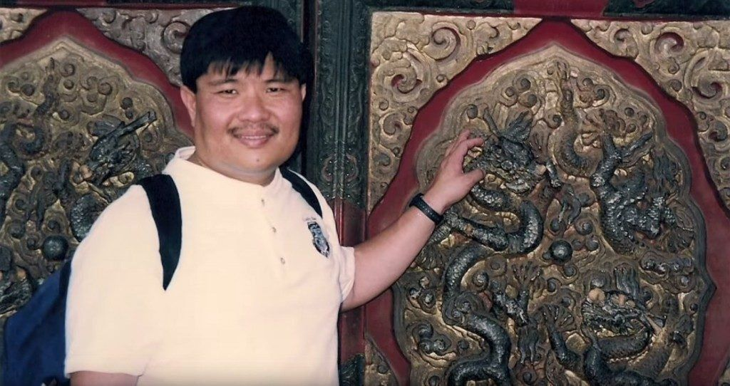 Rich Wee when he was overweight.