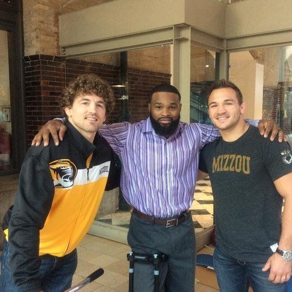 Ben Askren, Tyron Woodley, and Michael Chandler.