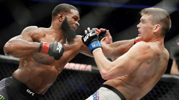 Tyron Woodley and Stephen Thompson.