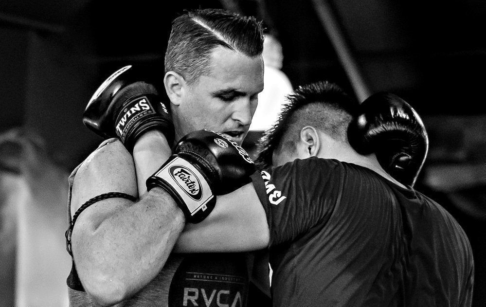 Muay Thai Clinch