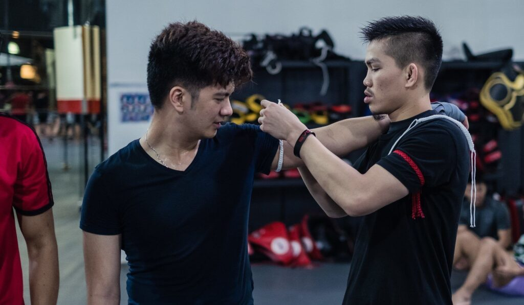 Muay Thai Student Singapore