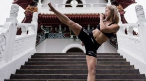 Song Ka Yeon Martial Arts High Kick