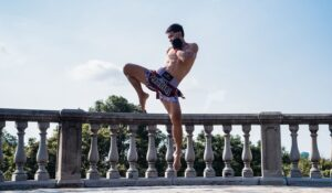 Yoddecha Muay Thai Flying Knee