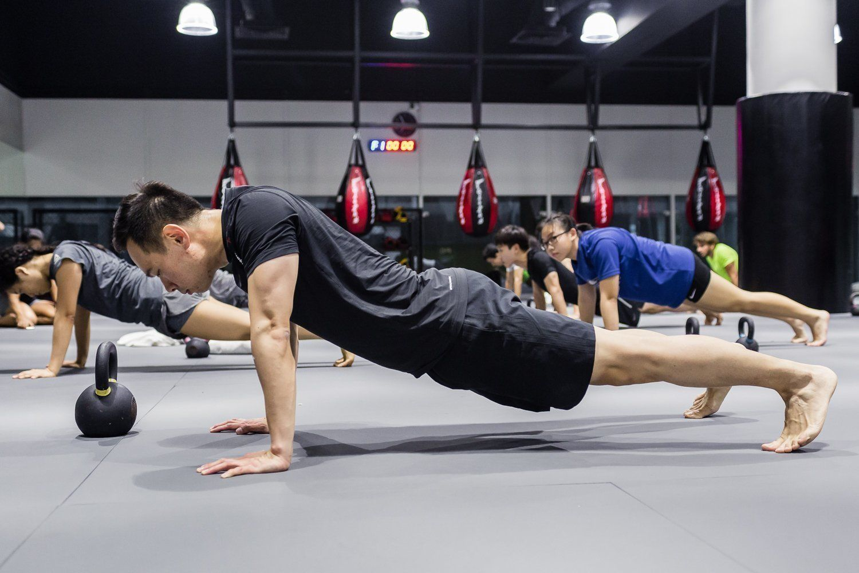 plank circuit training