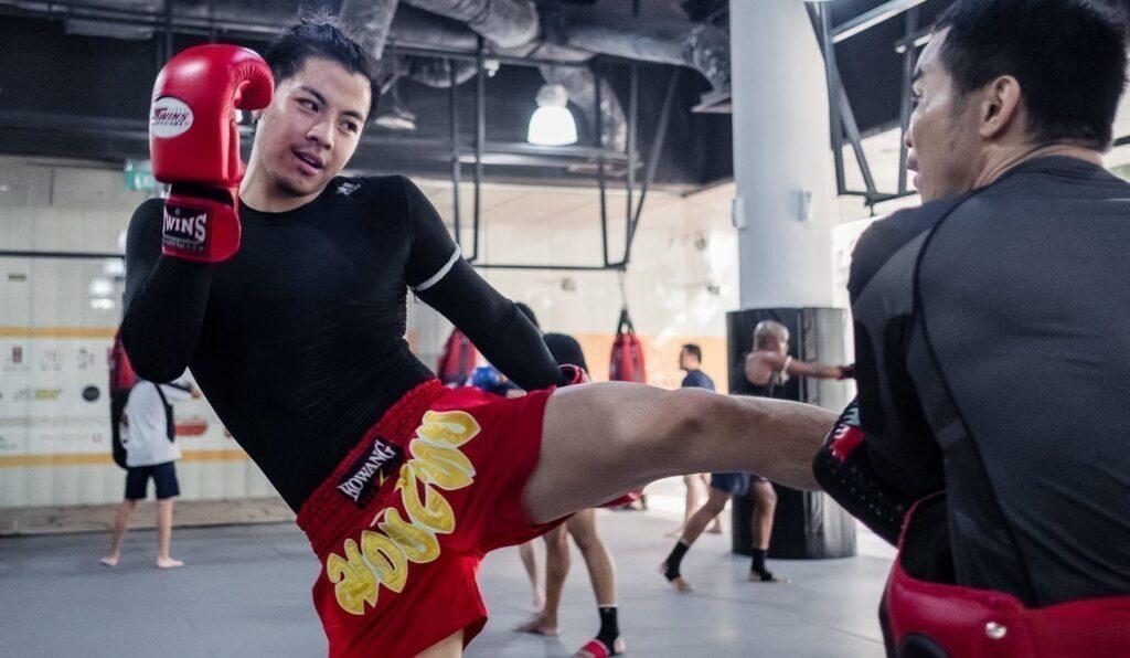 Muay Thai Roundhouse Kick