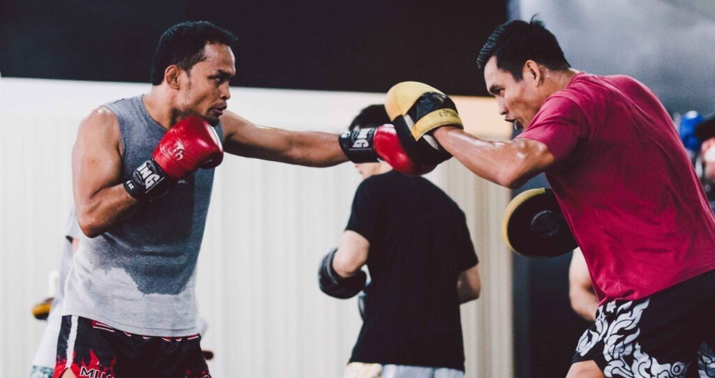 Here's Why Hitting Focus Mitts Is Vital To Your Boxing Training
