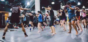 Martial Arts Gym Class