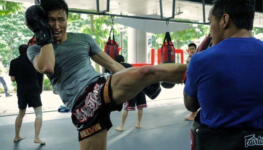 Muay Thai Class Kick