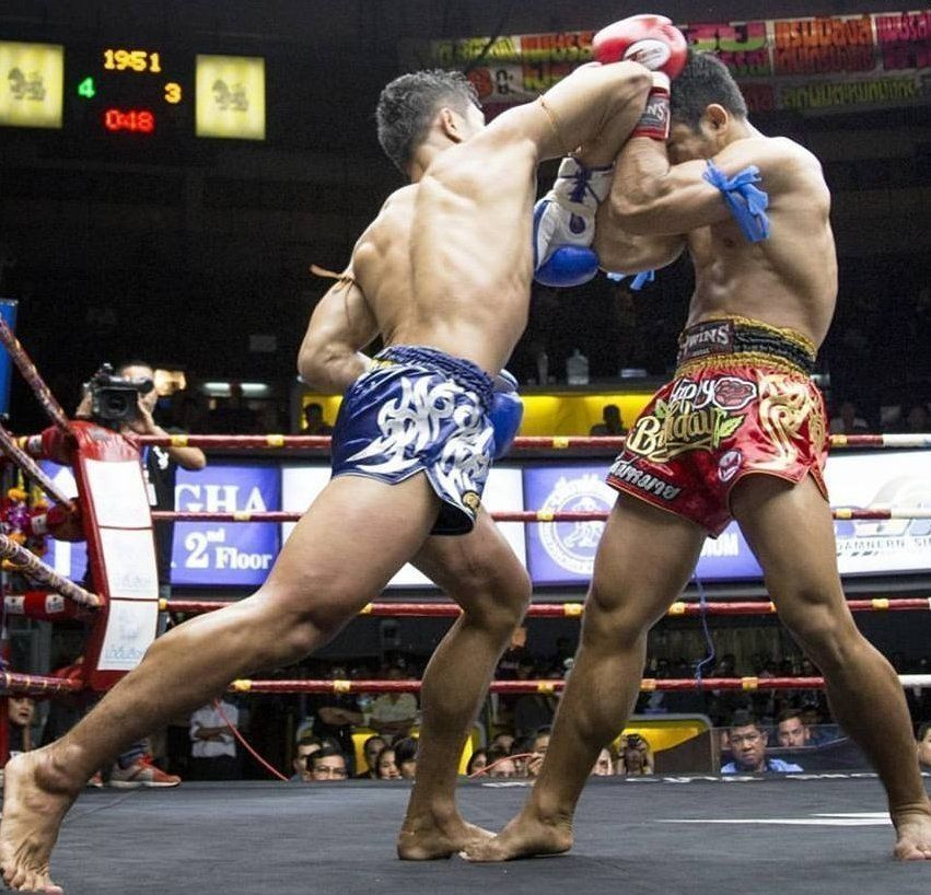 Muay Thai Shell Defense