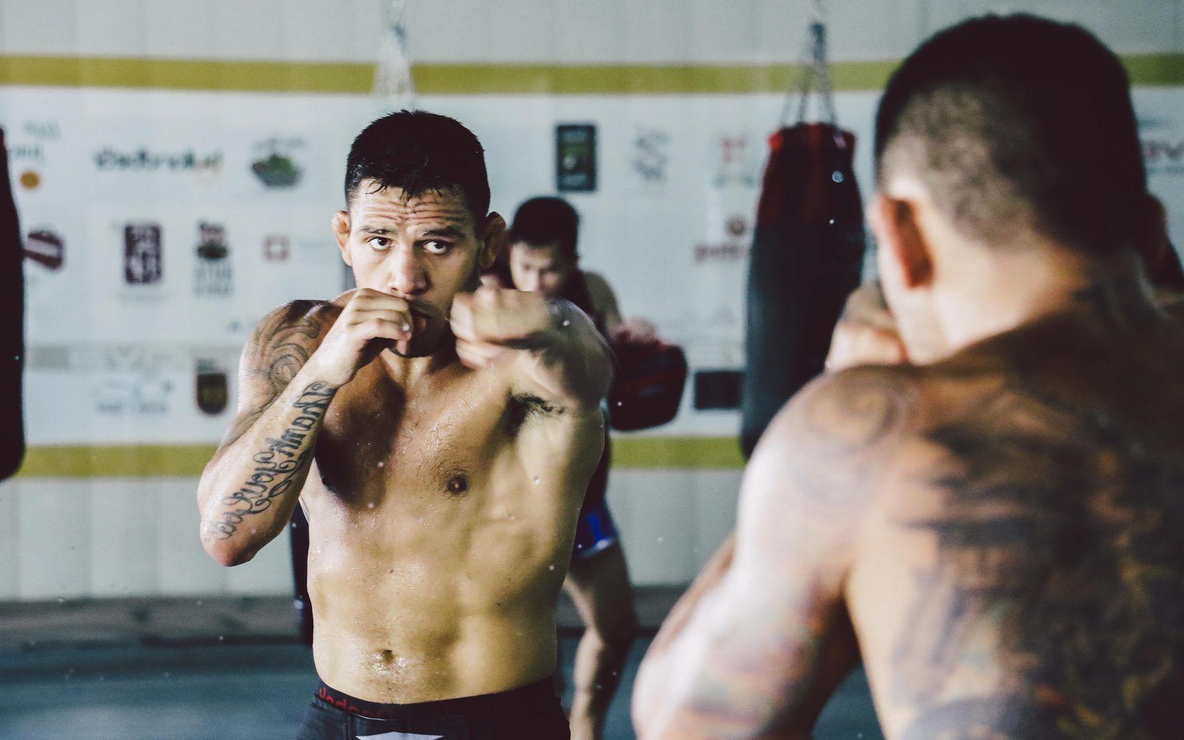Rafael Dos Anjos Shadow Boxing