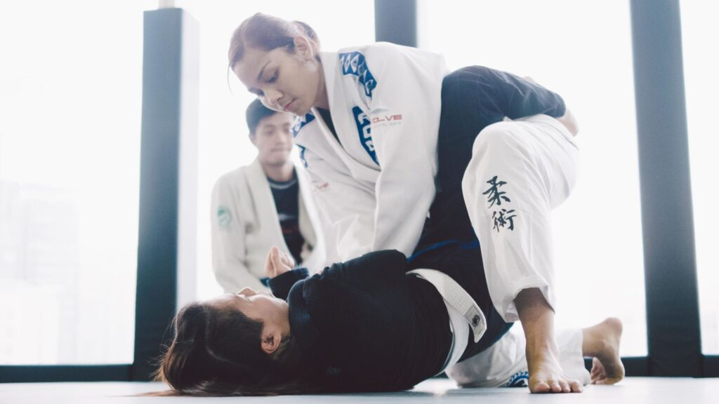 The 2 Brazilian Jiu-Jitsu Chokes Every Woman Should Know