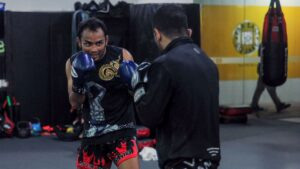 Muay Thai Sparring
