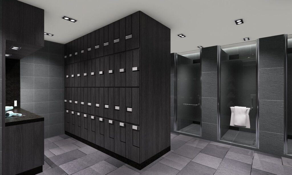 Evolve ONE KM Lockers and Showers