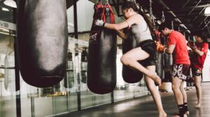 Muay Thai on the Bag