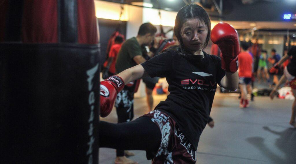 start Muay Thai Early
