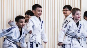 martial-arts-shy-children