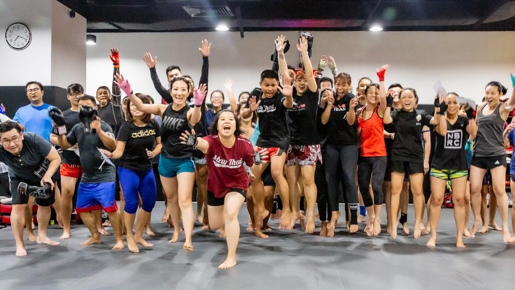 best muay thai class