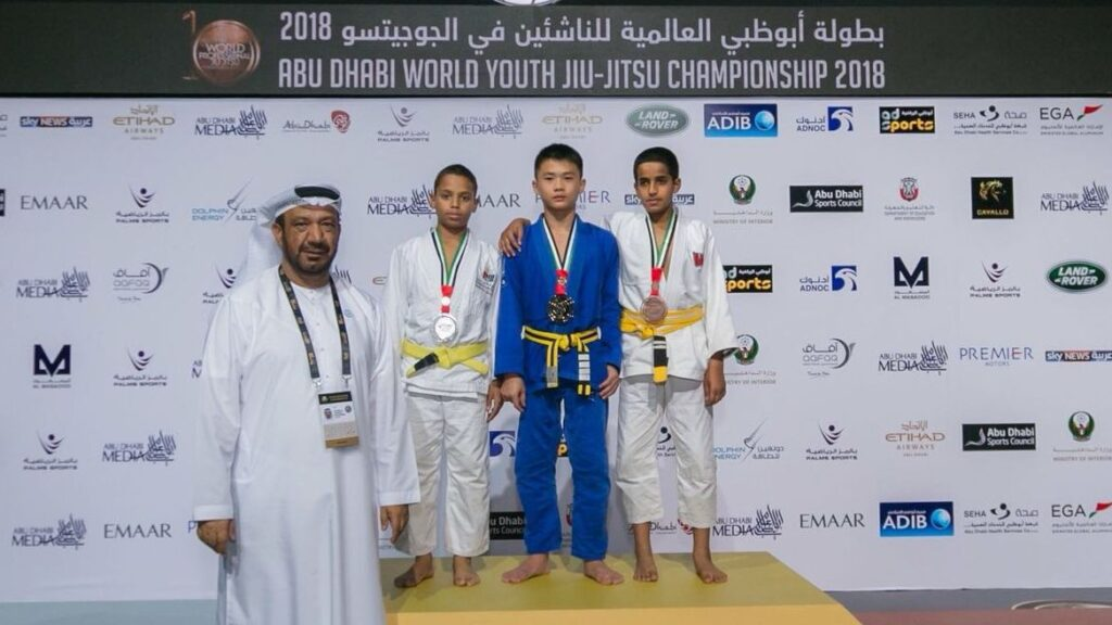 Evolve MMA Ranked As #1 In The Region At The Abu Dhabi World Youth Jiu-Jitsu Championship 2018!