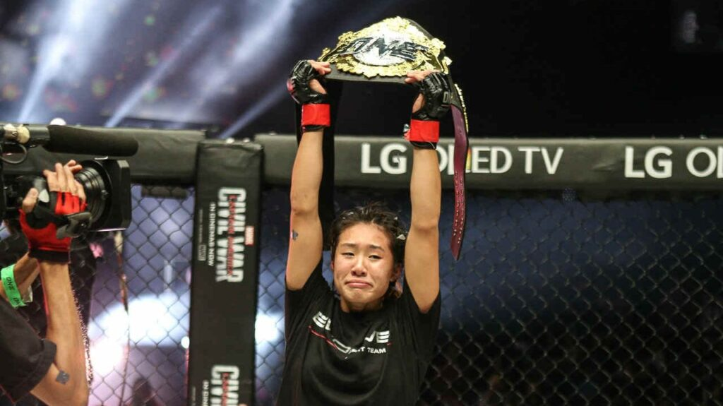 ONE World Champion Angela Lee's Top 3 Career Moments