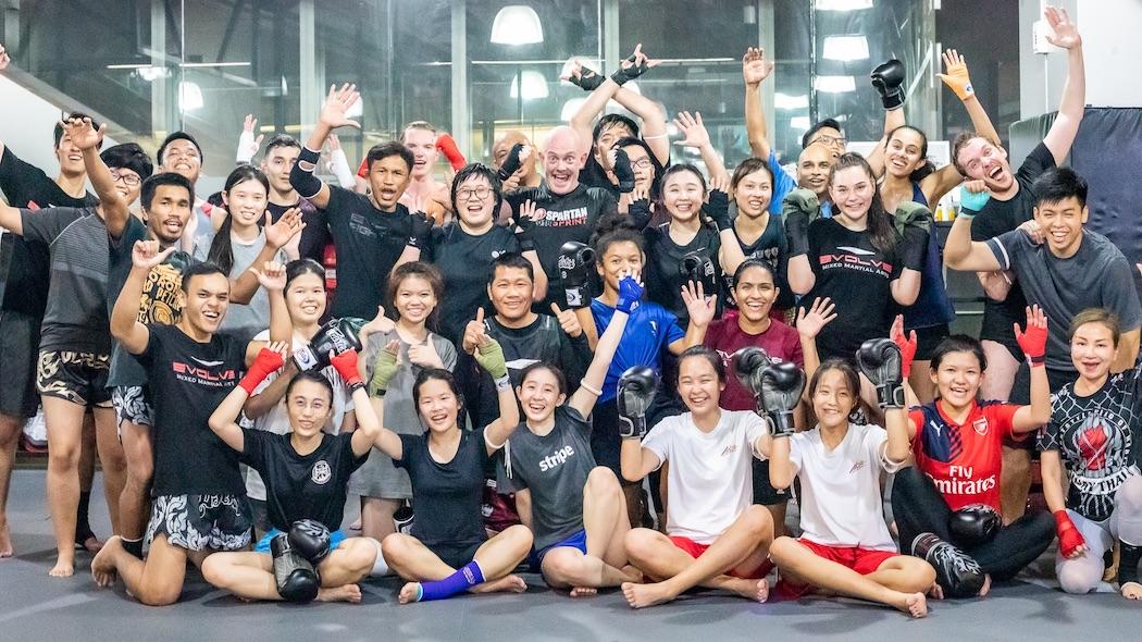 muay thai gym lessons