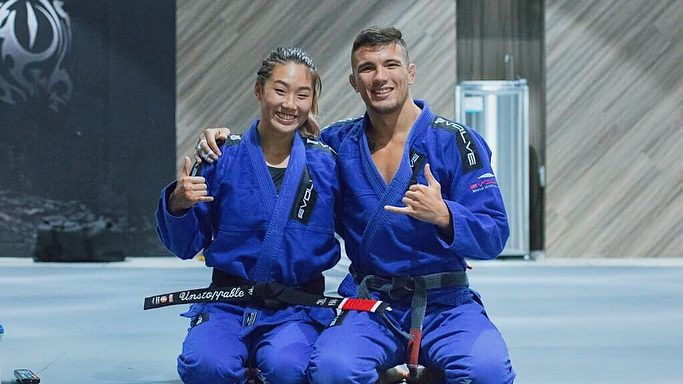 Here's How Martial Arts Adds A Spark To Angela Lee And Bruno Pucci's Marriage