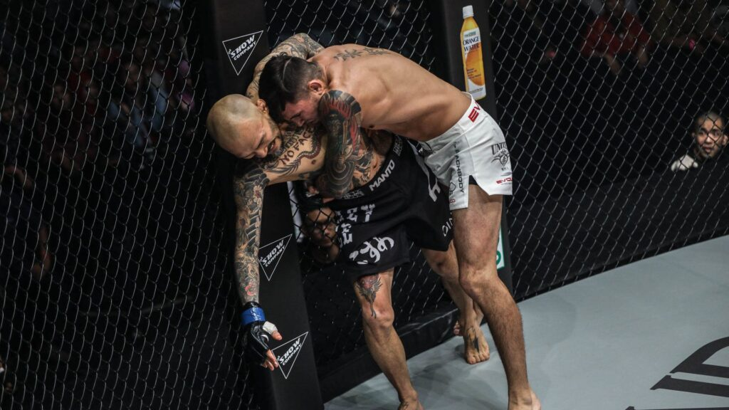 Here's How To Use The Cage In MMA