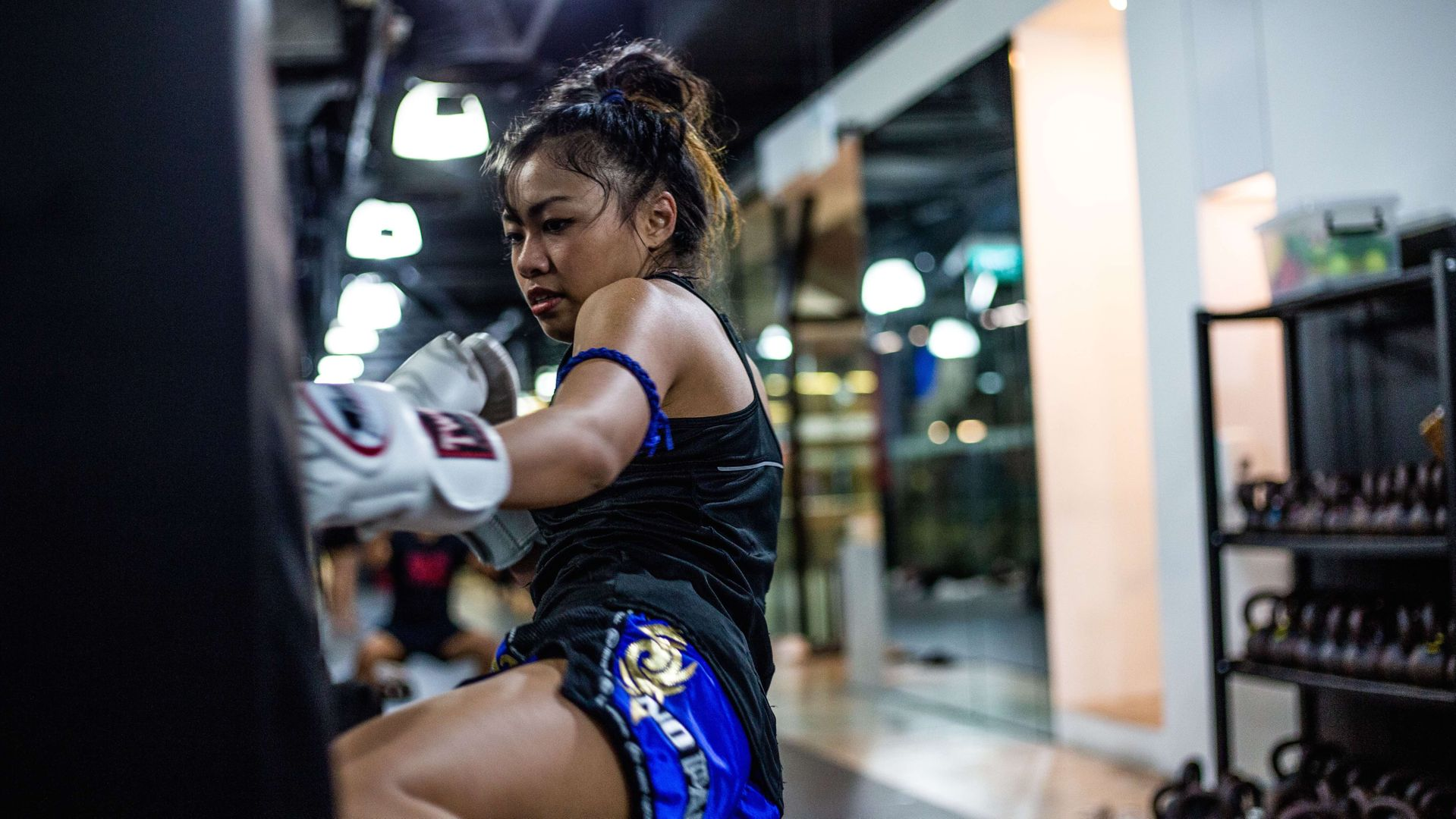 Nissira-Muay-Thai-Bag-Kick