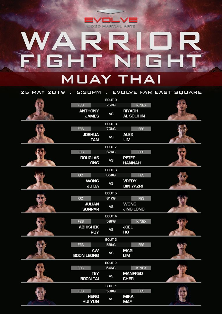 Fight-Night-Card