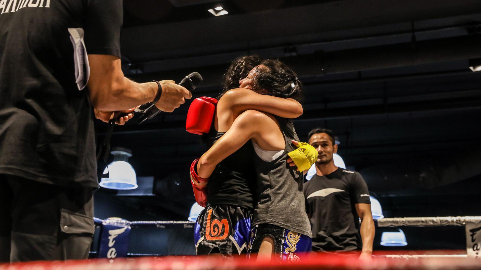 Sportsmanship-Hug