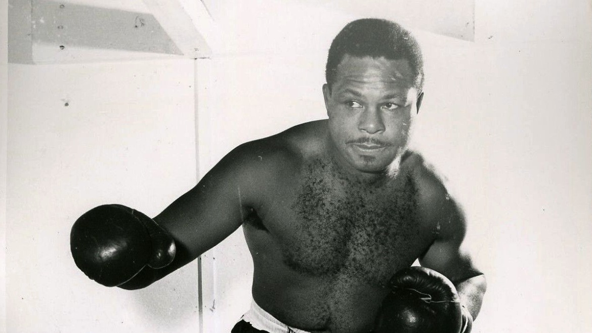 Archie Moore boxing
