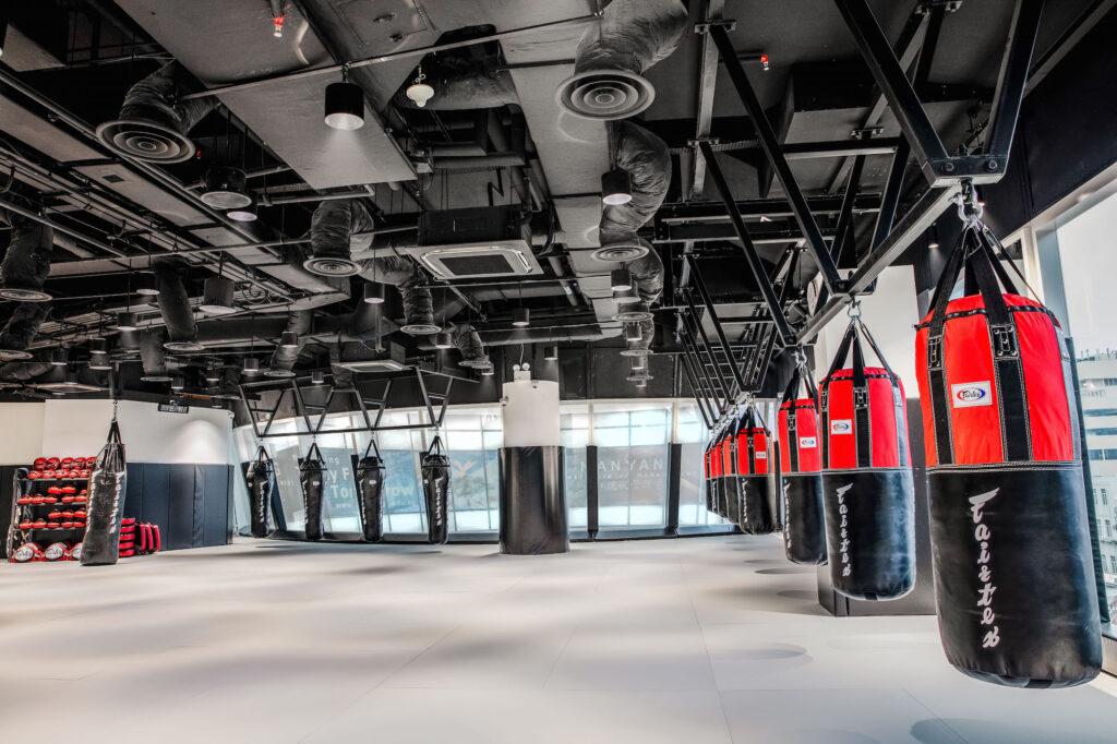 Evolve Clarke Quay Central Muay Thai Room