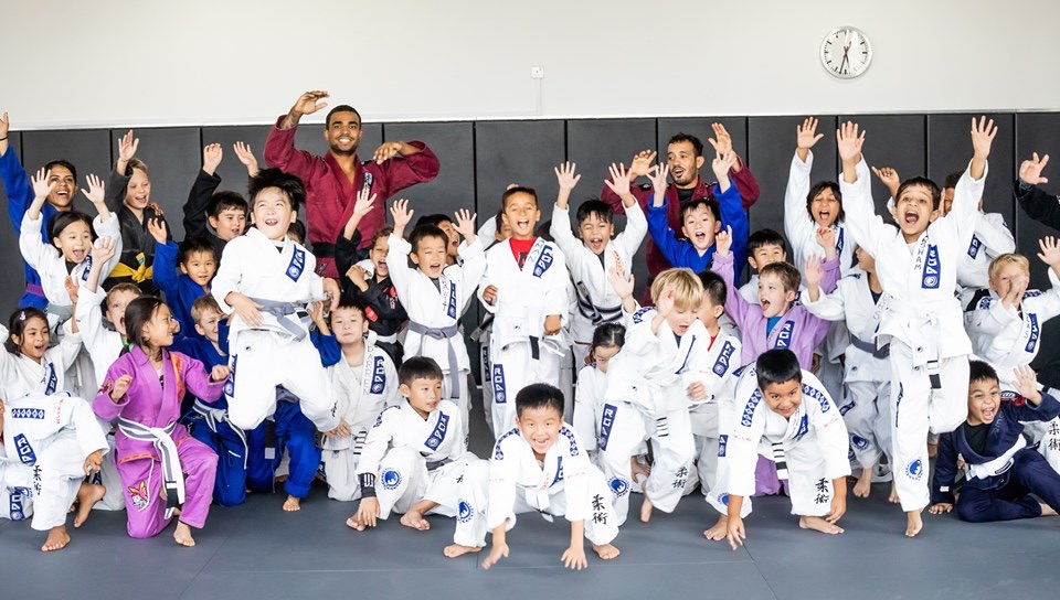 Happy Children's Martial Arts Class