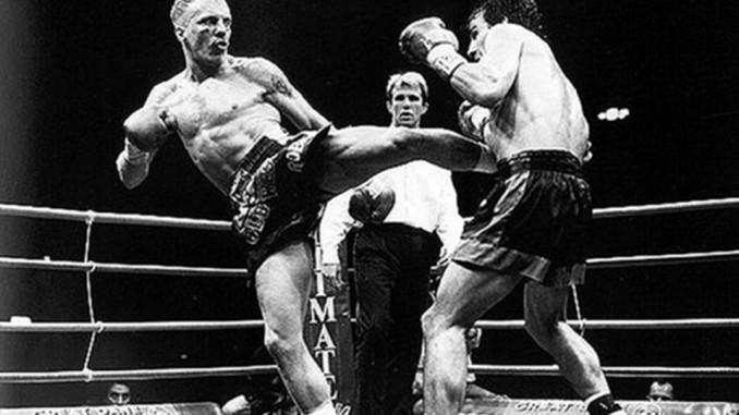 Ramon Dekkers Kicking