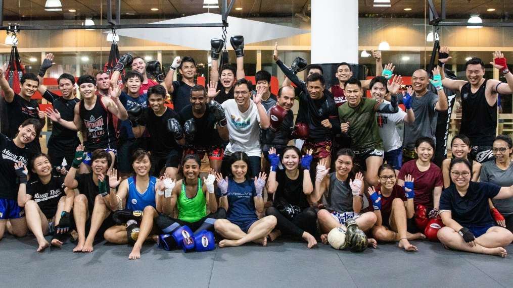 Group Muay Thai