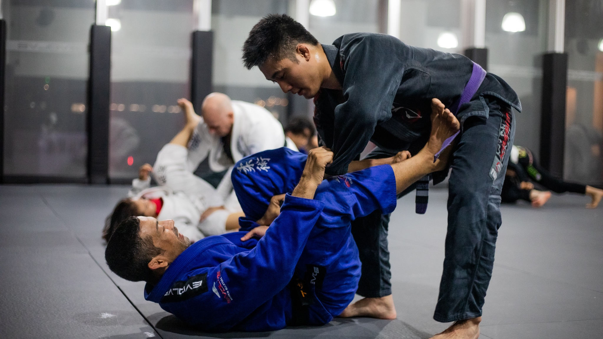 BJJ self-defense