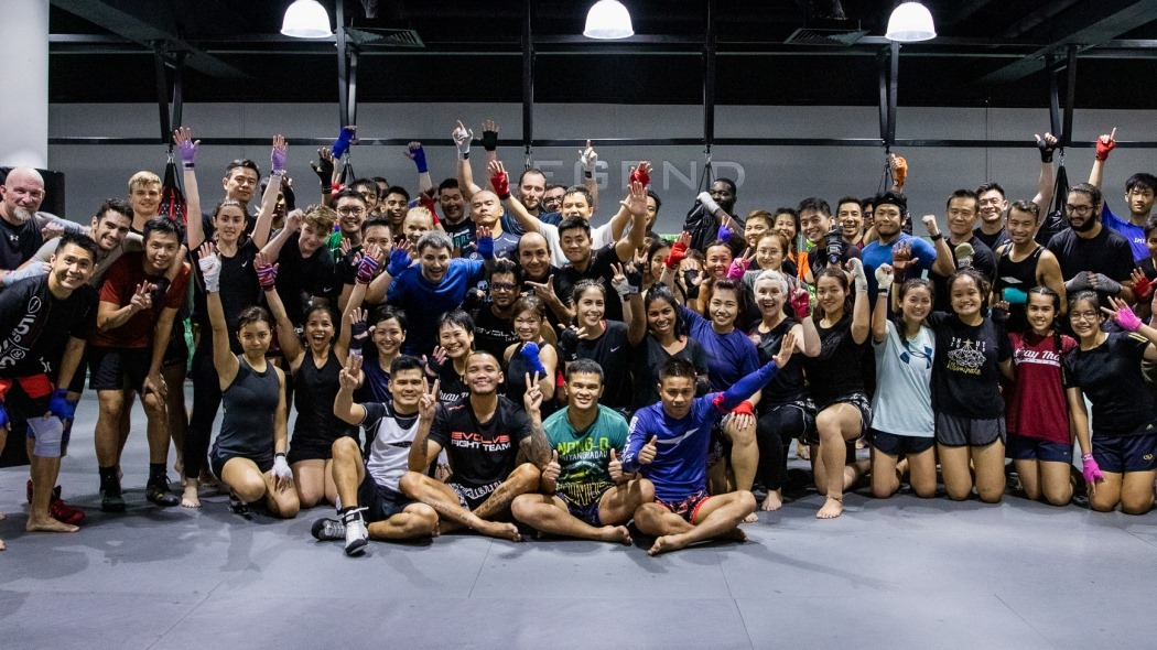 a boxing gym in singapore
