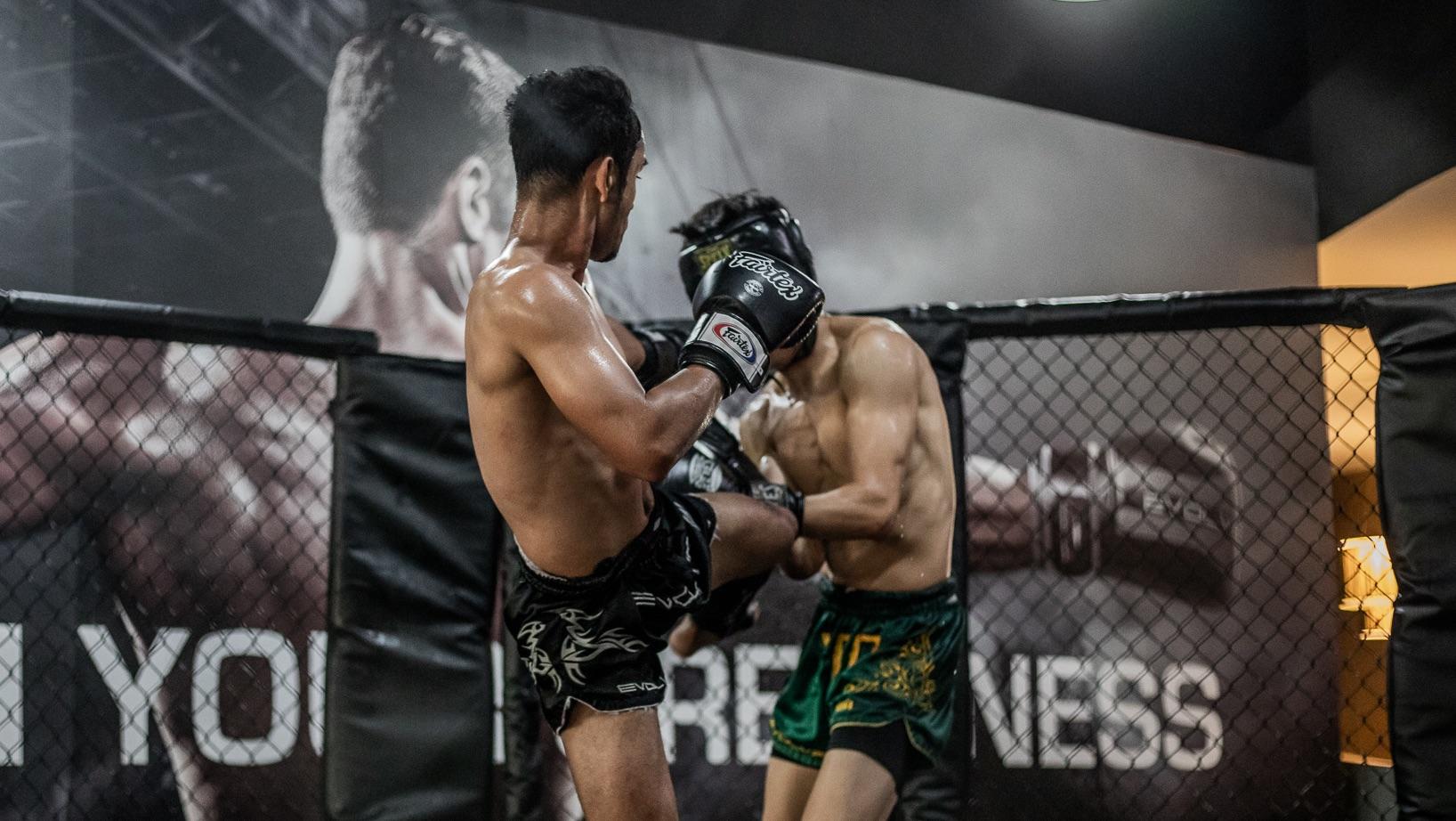 muay thai liver kick